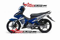 Mx 135 Modif by Modif Striping New Jupiter Mx 135 2014 Blue Motoblast