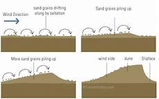 what is a sand dune landform