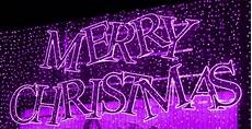 merry christmas with images purple christmas lights