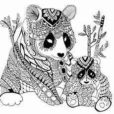 Ausmalbilder Erwachsene Panda Hi Coloring Most Of Adults A Hobby On