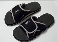 polo ralph mens flip flop sandal black 8 9 10 11 ebay