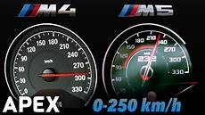 Bmw M4 0 100 - 2018 bmw m5 vs bmw m4 competition acceleration sound 0