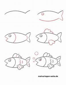 Einfache Malvorlagen Fische Malvorlage Fisch Einfach Kostenlos