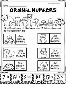 ordinal number worksheets by glitter and glue 4 k 2 tpt