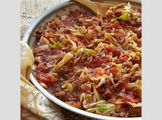 One Pan Grass fed Beef & Cabbage Skillet   Clean Food Crush