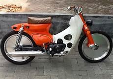 Motor Honda 70 Modifikasi by Foto Modifikasi Motor Honda 70 Retro Gokil Terbaru