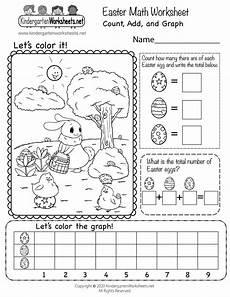 easter worksheets 18849 free easter math worksheet for kindergarten count add and graph