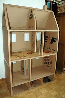 construire maison de poupee maison de poup 233 es en doubles cannelures pour