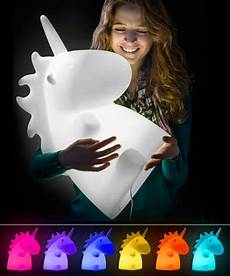 any color large unicorn wall unicorn l color changing desktop light