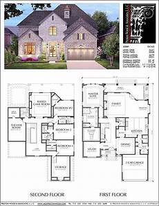 spacious two story home plan unique two story house plan floor plans for large 2 story