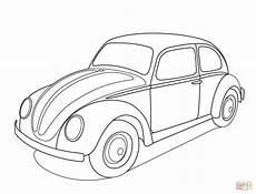 volkswagen beetle coloring page free printable coloring