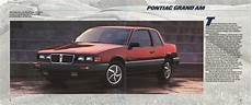 car manuals free online 1988 pontiac grand am user handbook 1985 pontiac full line prestige brochure