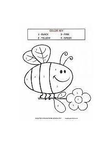 free simple color by number worksheets 16325 color by number coloring pages