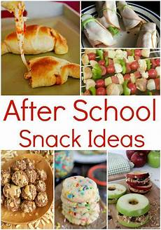Snack Ideen - after school snack ideas for