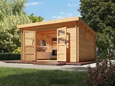 gartenhaus selbst gebaut gartenhaus blockbohlenhaus quot torgau 5 quot 38 mm naturbelassen