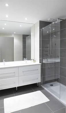 salle de bain et gris une salle de grise et blanche il manque le petit