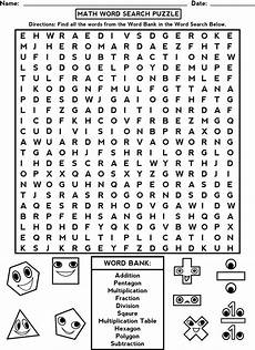 word search worksheets for brain activity educative puzzle for kids first grade math