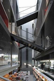 Rbc Design Centre Montpellier By Jean Nouvel Atrium