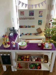 diy kaufladen shop ikea hack lack playroom in 2019