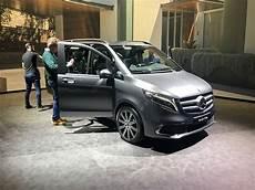 Serienproduktion Der Mercedes V Klasse Gestartet