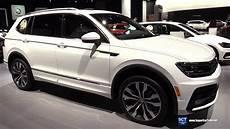2018 Volkswagen Tiguan R Line 4motion Exterior Interior