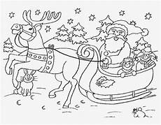 santa claus in sleigh coloring page santa and sleigh
