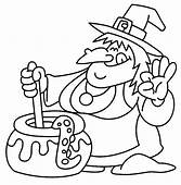 Witch Halloween Coloring Pages Free Printable