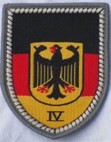 bw verbandsabz wehrbereichskommando iv badge arms