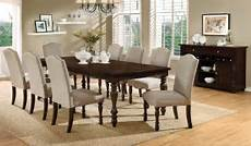 hurdsfield cherry extendable rectangular dining room from furniture of america