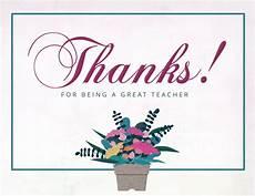 thank you card for teachers template teachers day thank you card template postermywall