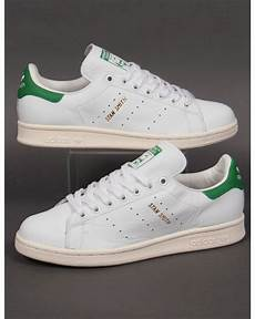 adidas stan smith trainers white green gold originals