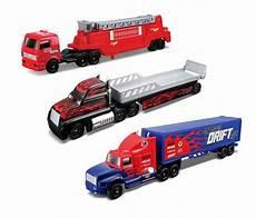 maisto diecast fresh metal highway haulers 3 piece