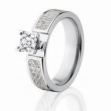 meteorite rings meteorite wedding rings for engagement ring