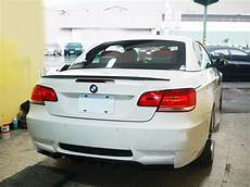 carbon rear trunk spoiler for bmw e93 p type 3 serie m3
