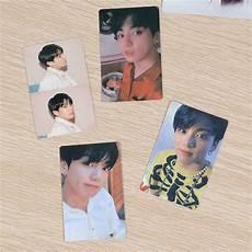 4pcs Set Kartu Foto Kpop Bts Member Untuk Koleksi