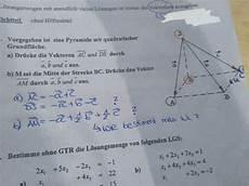 r 228 umliche darstellung vektoren pyramiden mittelpunkt