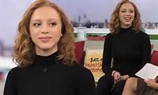 boris becker s model ermakova on tv during