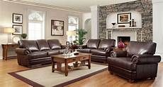 leather livingroom furniture traditional brown bonded leather sofa loveseat chair 3