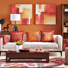 modern orange living room decorating housetohome co uk
