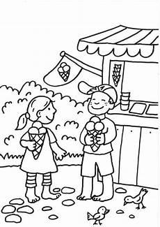 Ausmalbild Sommer Grundschule Kostenlose Malvorlage Sommer Eisbude Zum Ausmalen