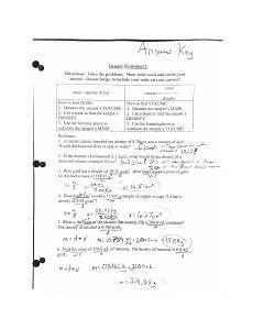 density worksheet 2 answer key pdf aw k densig worksheet 2 directions solve the problems show