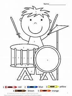 coloring worksheets for pre k 12865 color by number motor skills special education kindergarten