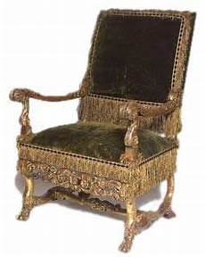 Louis Xiv Chair 1675 Carved And Gilded Walnut Fixed