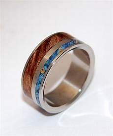 titanium ring wedding ring wooden wedding rings ring maple ring box elder mens ring