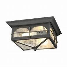 home decorators collection brimfield 3 head aged iron outdoor light hb7019a 292 the home