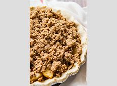 crumble topping for apple pie recipe