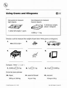 using grams and kilograms worksheet lesson planet math learning math 2nd grade