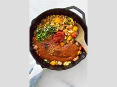 spicy lentil and vegetable dish_image