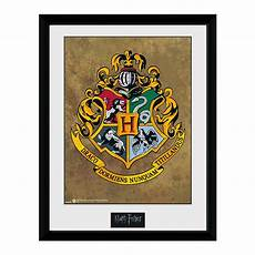 Harry Potter Wappen Malvorlagen Harry Potter Collector Print Hogwarts Wappen Gerahmte