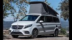 Mercedes Marco Polo Gebraucht - 2020 mercedes v class marco polo 300 d a luxurious